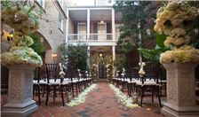 New Orleans Hotel Weddings - Wedding Ceremony in our Courtyard