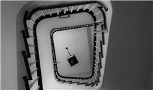 New Orleans Hotel - Original Hotel Stairwell