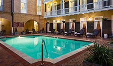 New Orleans Hotel Amenities - Heated Outdoor Pool