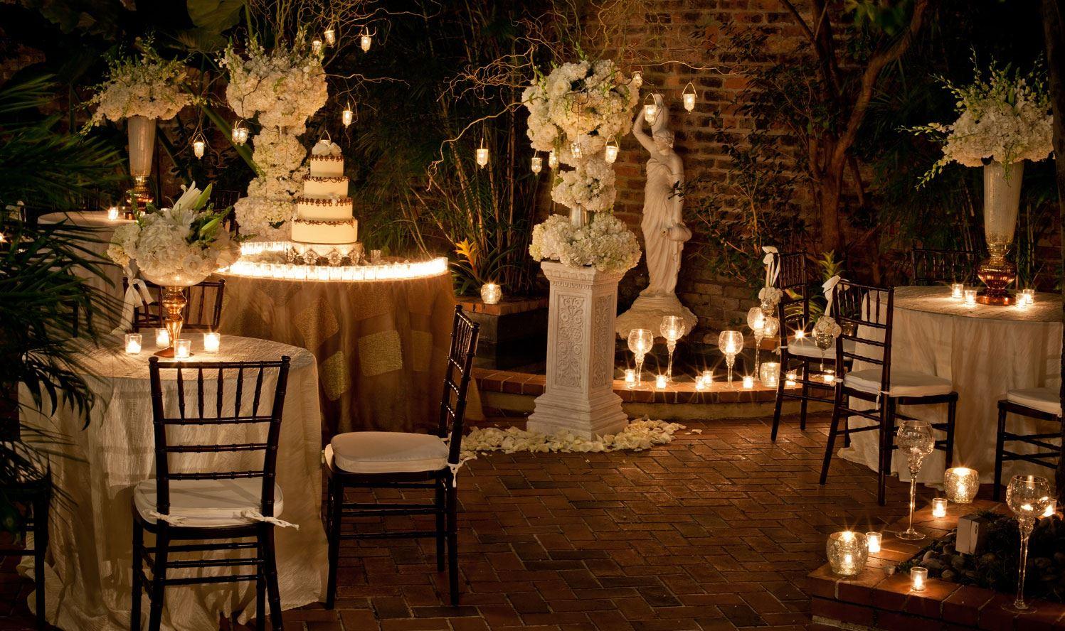 French quarter inn wedding
