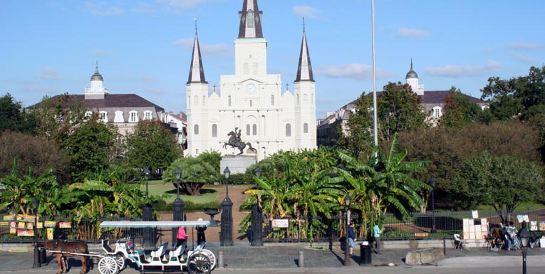 Jackson Square at Louisiana